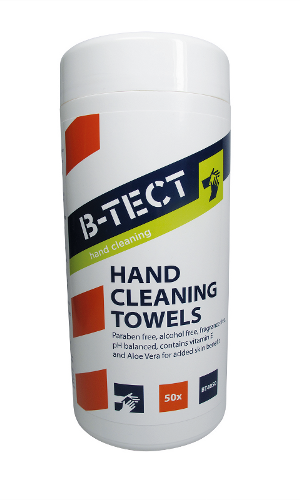BT4050 hand cleaning wipes