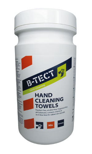 BT4090 hand cleaning wipes
