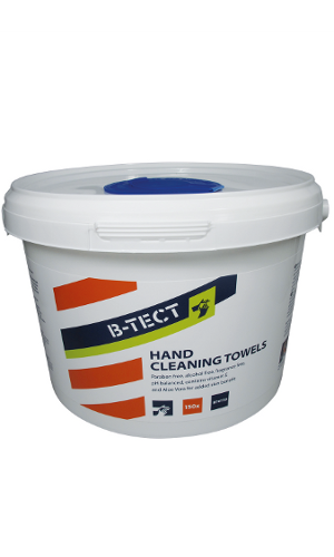 BT4150 hand cleaning wipes